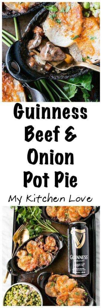Guinness Beef & Onion Pot Pie |