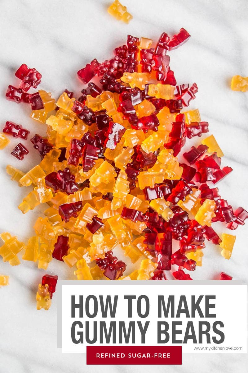 How To Make Gummy Bears recipe.