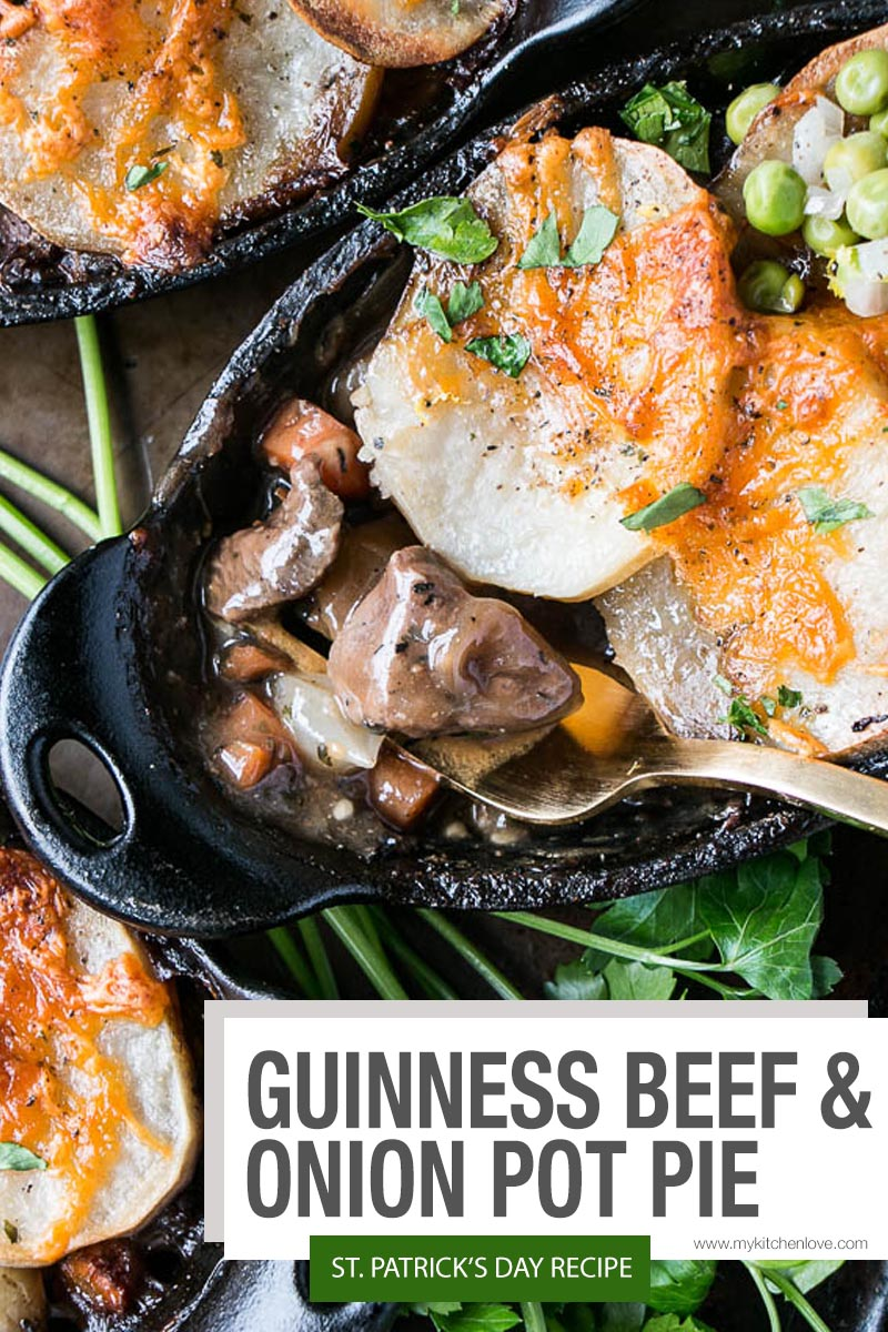 Guinness Beef and Onion Pot Pie