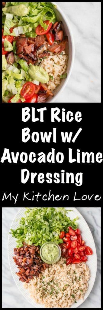 BLT Rice Bowl - long Pin