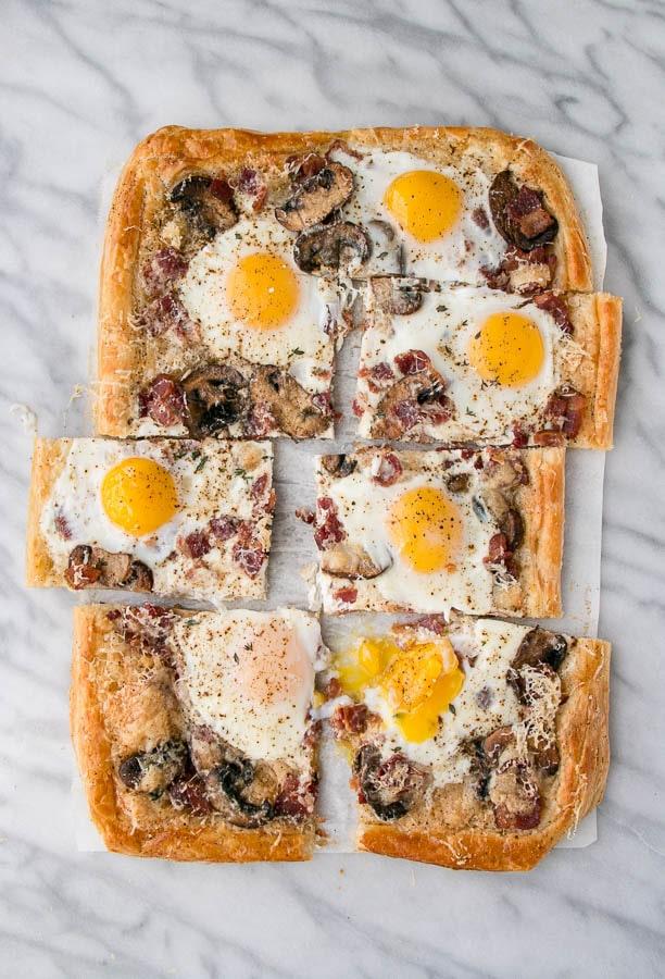 Slab Breakfast Pie