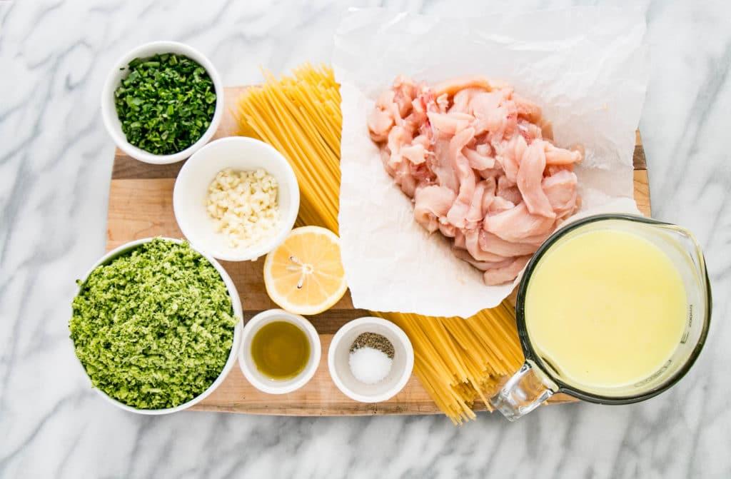One Pot Herb & Garlic Chicken Pasta | My Kitchen Love