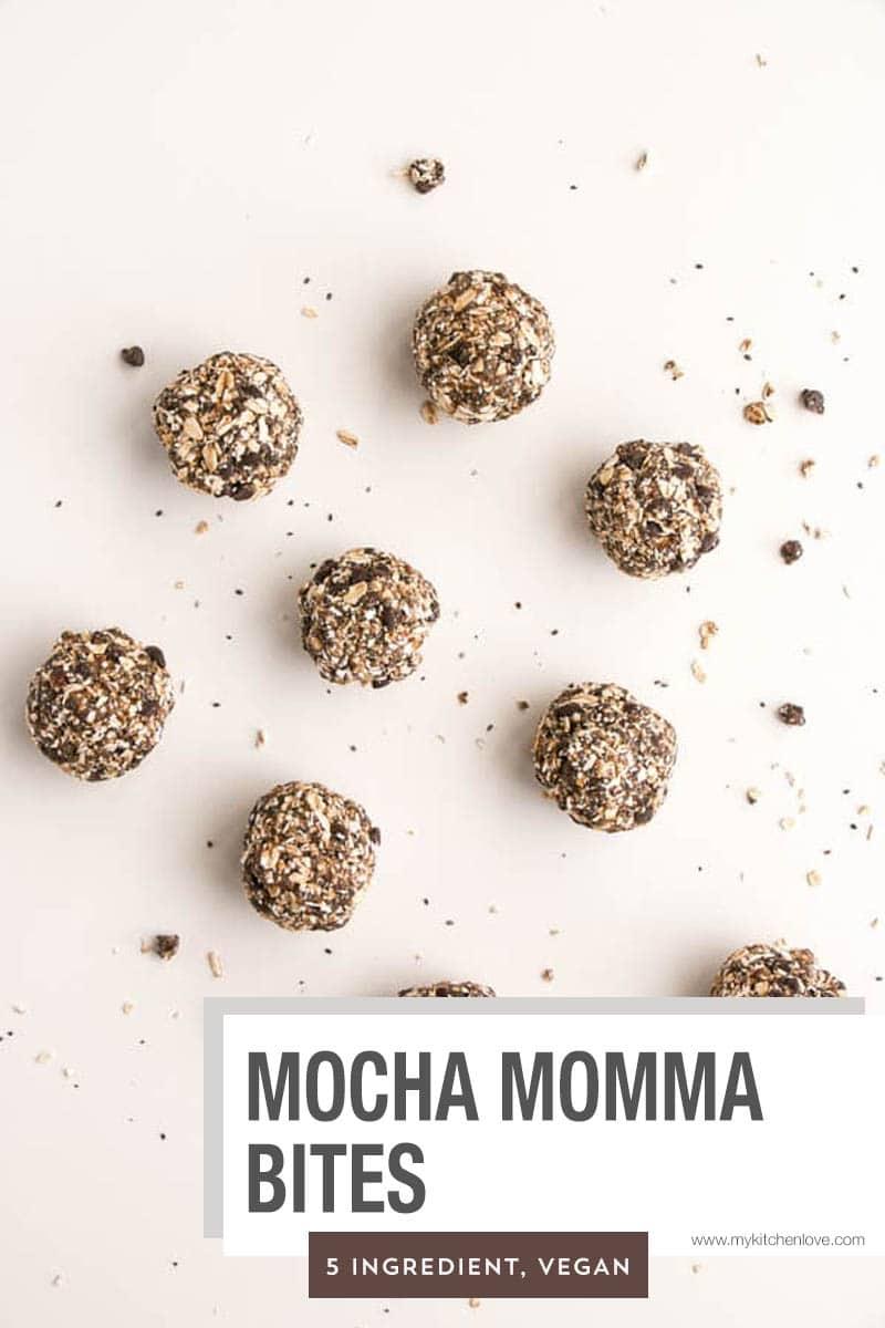 Mocha Momma Energy Bites Short Pin