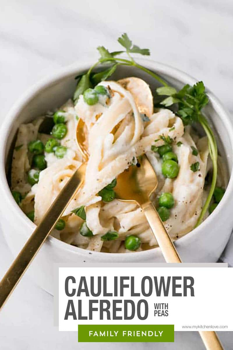 Cauliflower Alfredo Short Pin