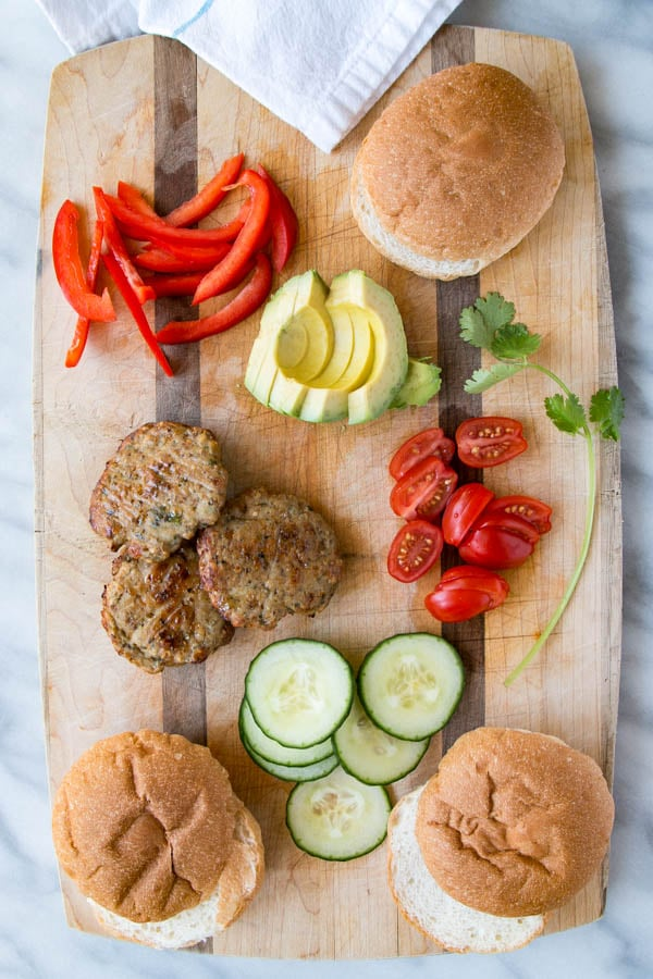 Chicken Patties (baby and kid-friendly) | My Kitchen Love. Nutrient-packed mini chicken patties that perfect for smaller hands or in a slider for older kids and adults.