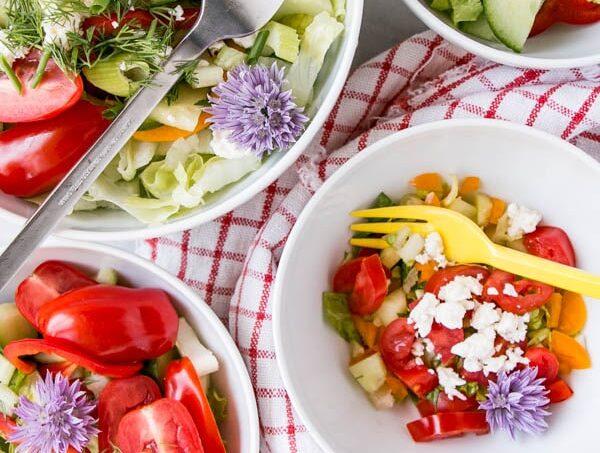 Image of kid-friendly salad