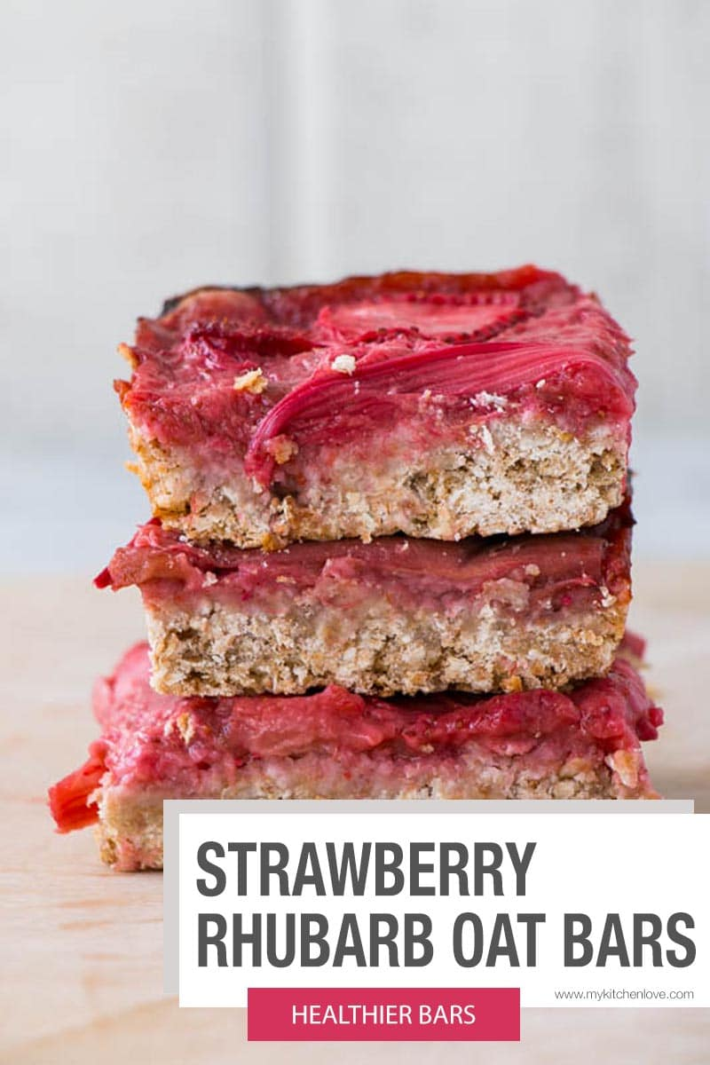 Strawberry Rhubarb Bars Short Pin