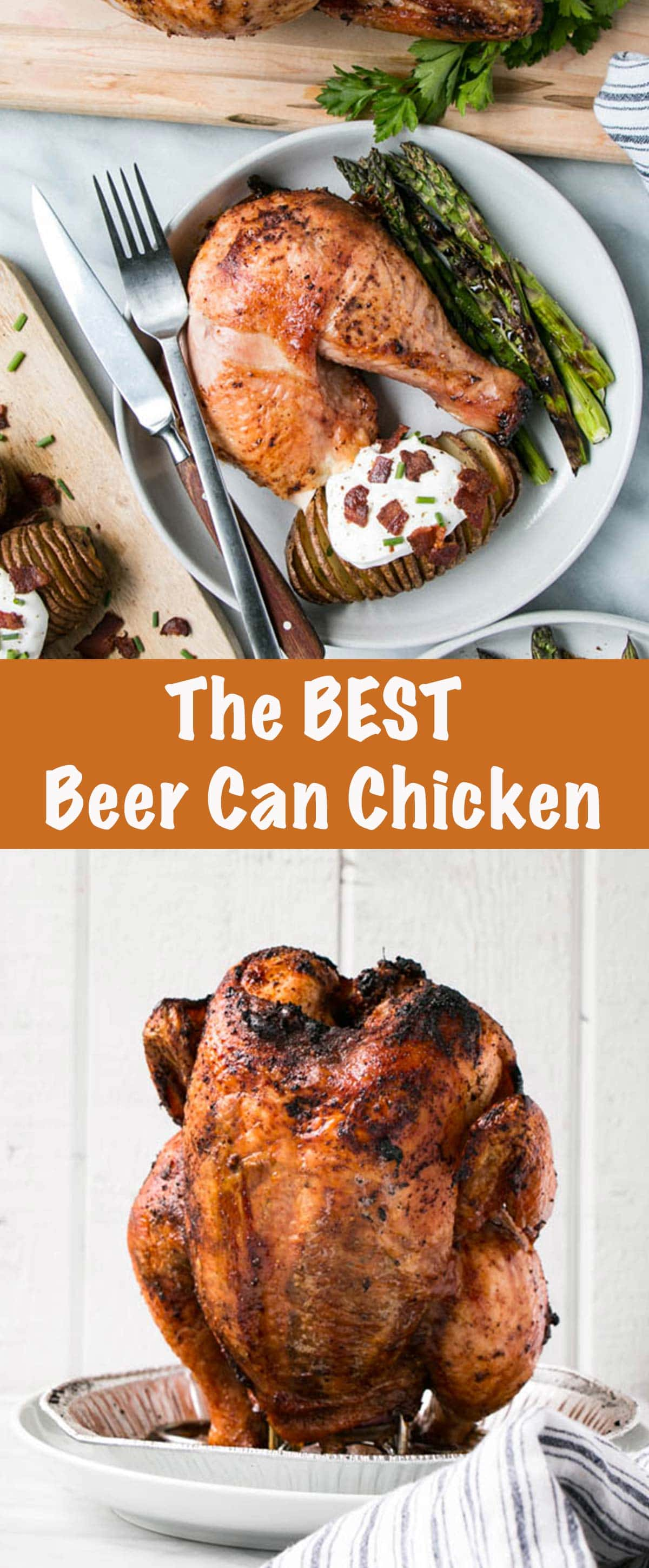 Beer Can Chicken Long Pin