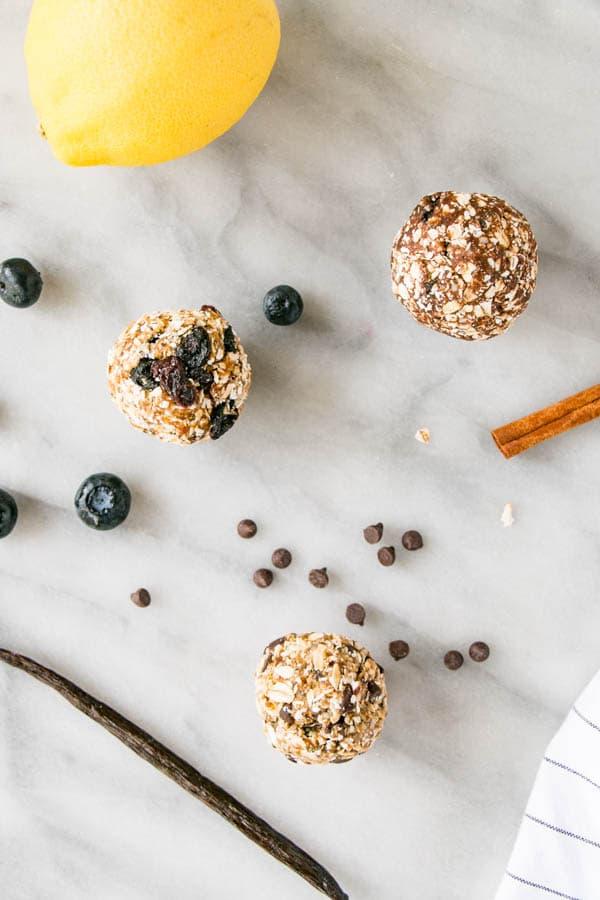Kid-Friendly Nut-Free Energy Bites 3 Ways. Back to school snacks done right!