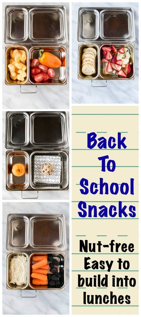 week 1 back to school snacks - long pin