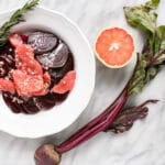 Rosemary Beet and Grapefruit Salad