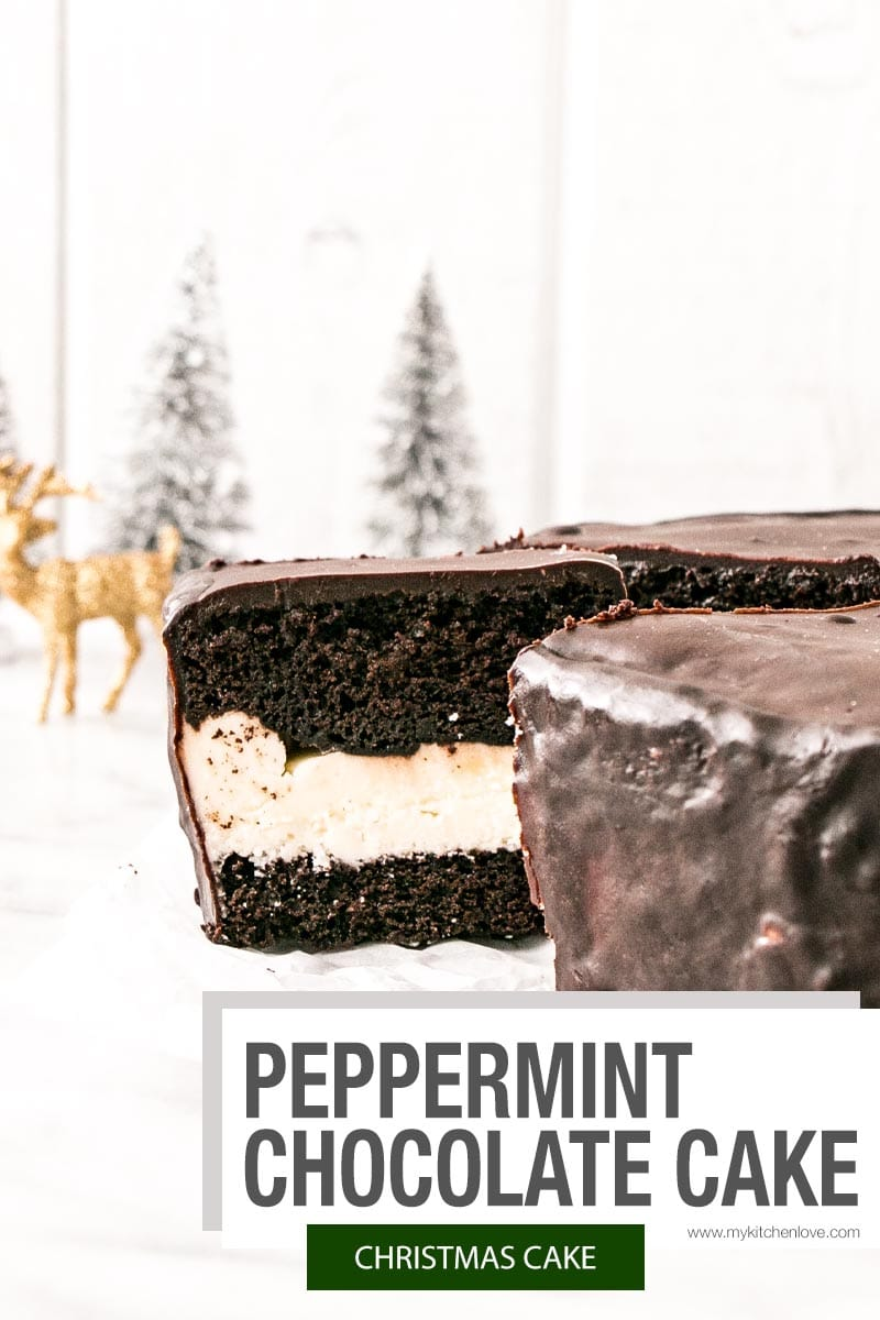 Christmas Cake Short Pin