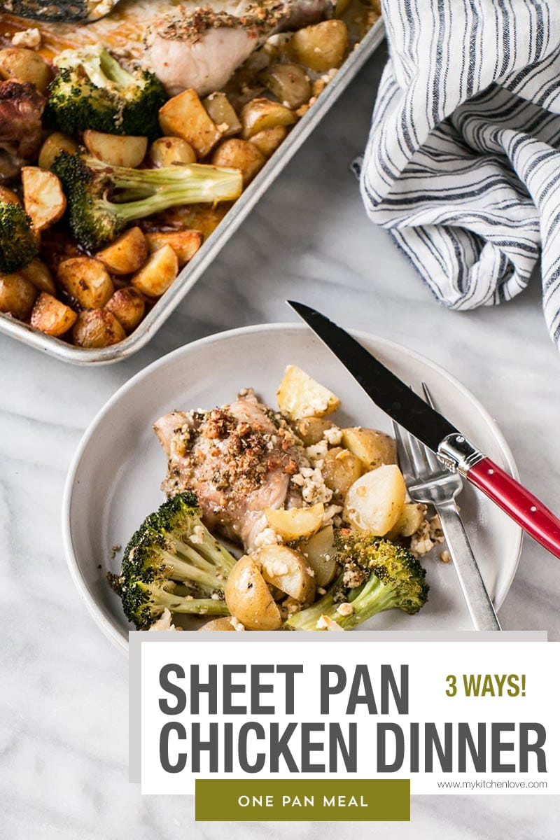 Sheet Pan Chicken Dinner Short Pin