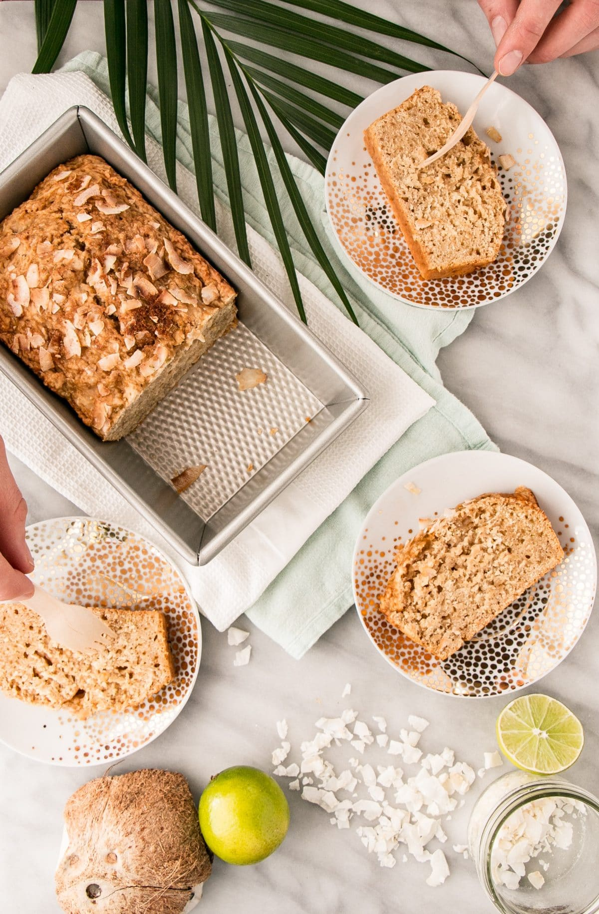 This Coconut Lime Loaf is a one bowl easy to prepare quick bread. Brighten up your day with this vibrant Coconut Lime Loaf! #coconut #lime #easyrecipe #comfortfood