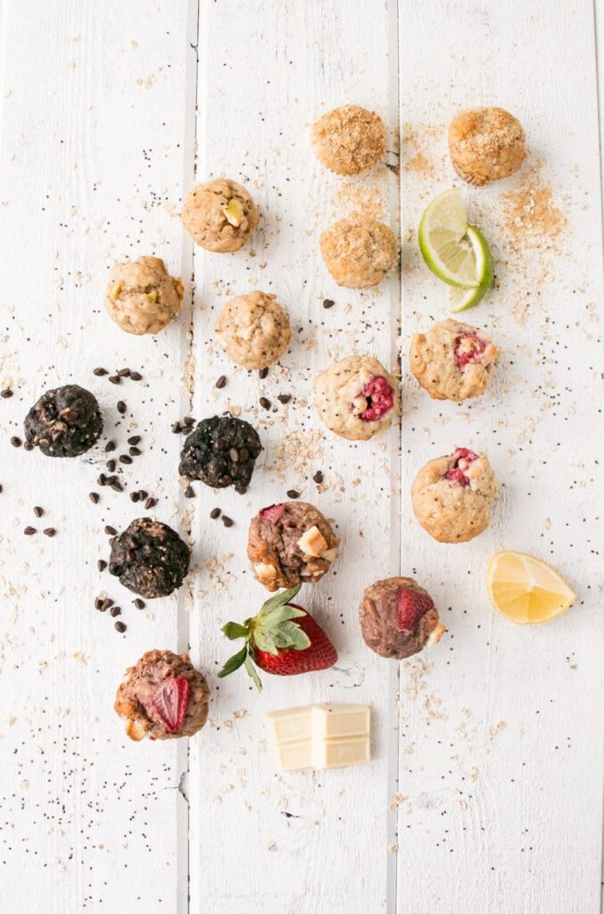 School-Safe Mini Muffins 5 Ways