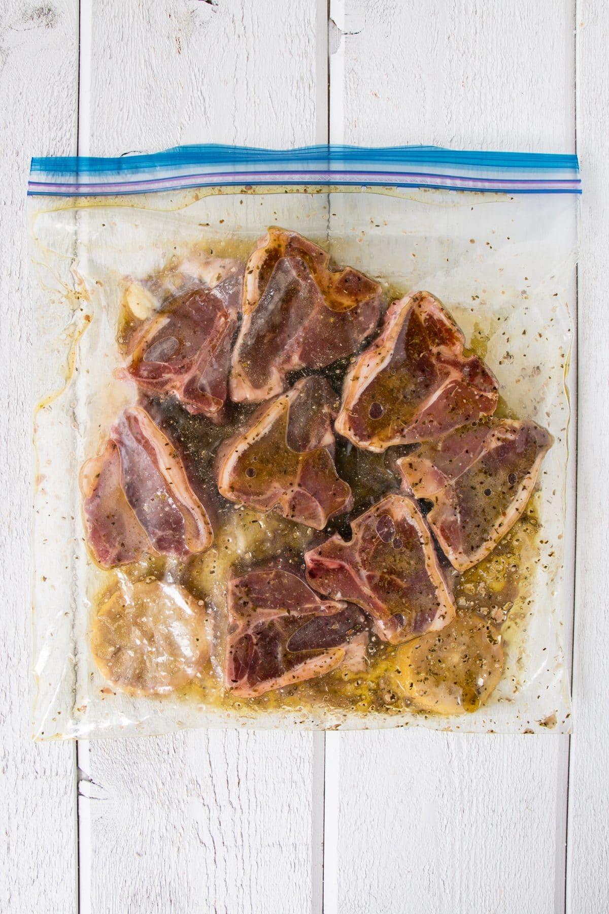 How-to-bake-Lamb-Chops-Marinating