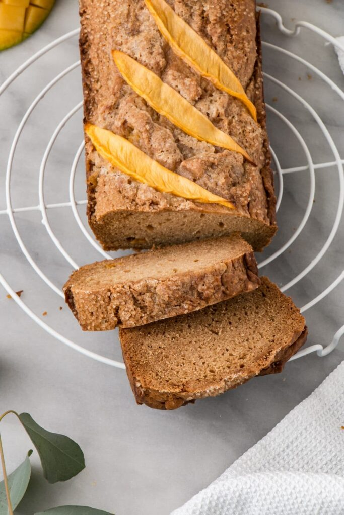 Mango Brown Sugar Bread