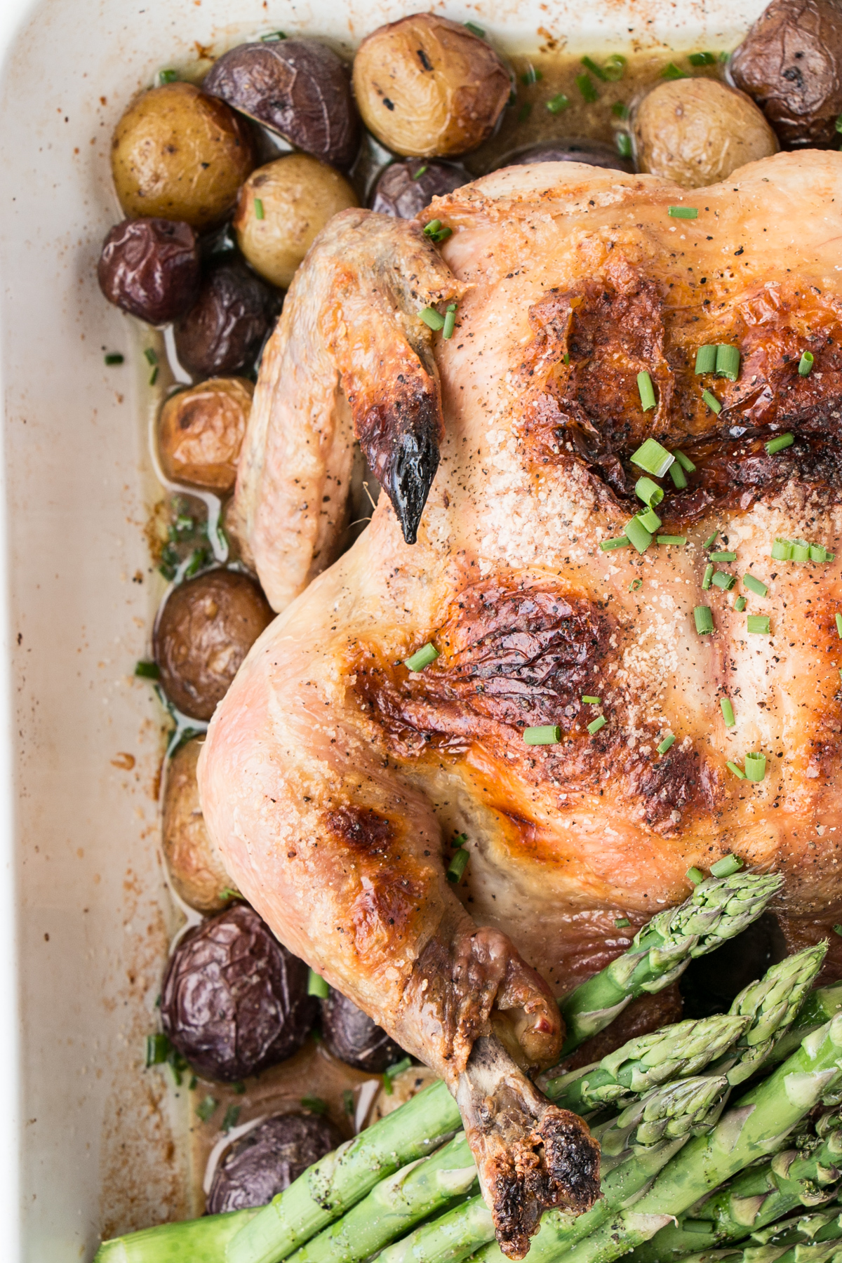 4 Ingredient Roast Chicken Dinner My Kitchen Love