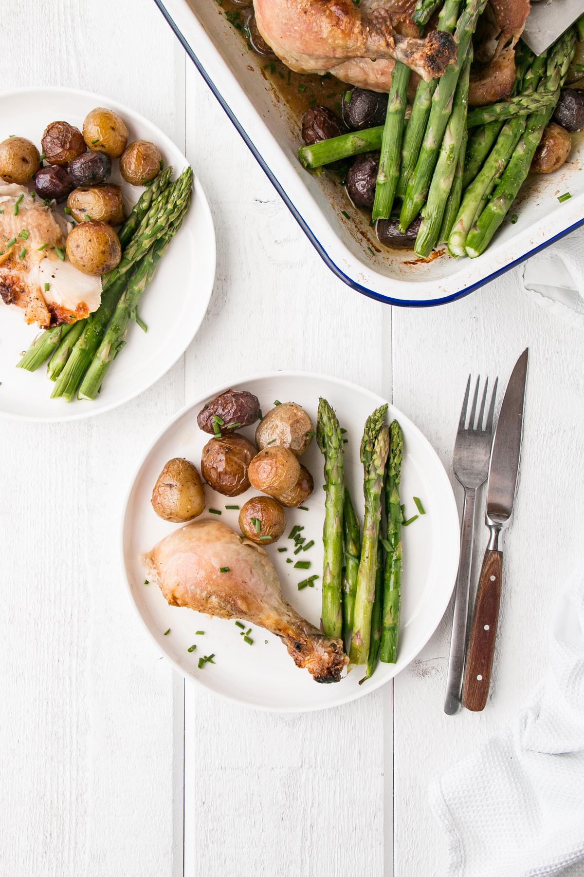 how to cook a roast chicken dinner