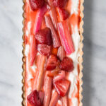Rhubarb & Strawberry Tart