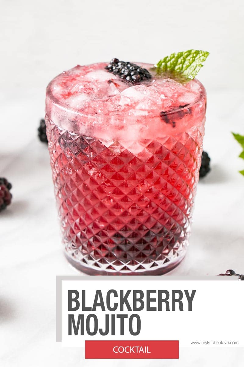 Blackberry Mojito Short Pin