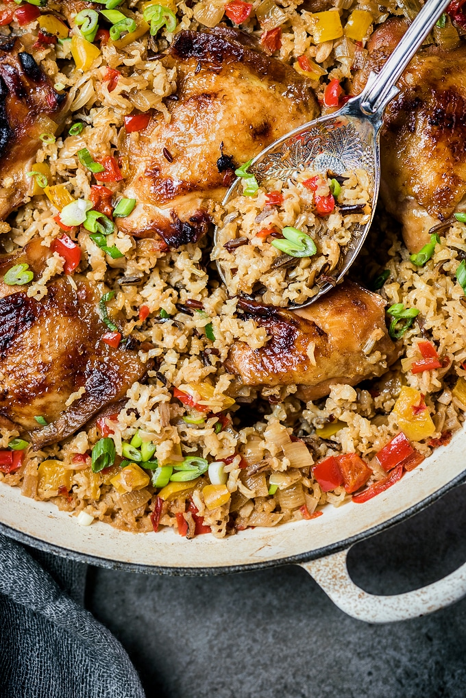 One Pot Chinese Chicken and Rice
