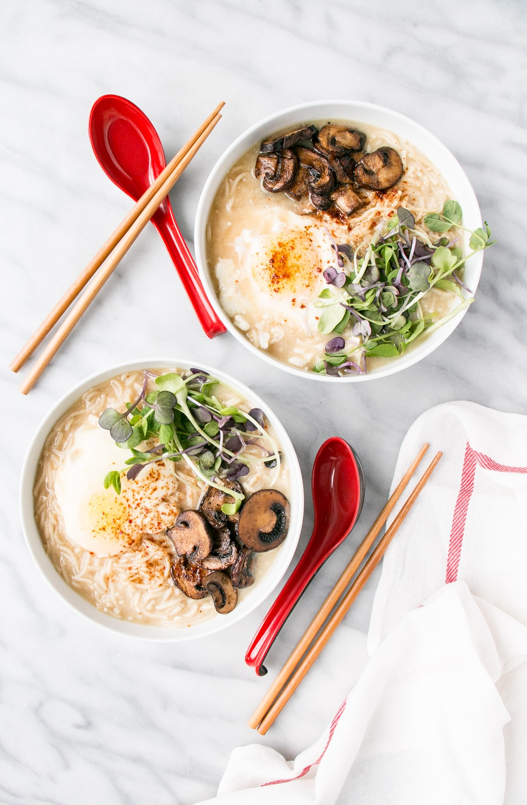 One Pot Instant Miso Ramen