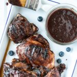 Slow Cooker Blueberry BBQ Sauce