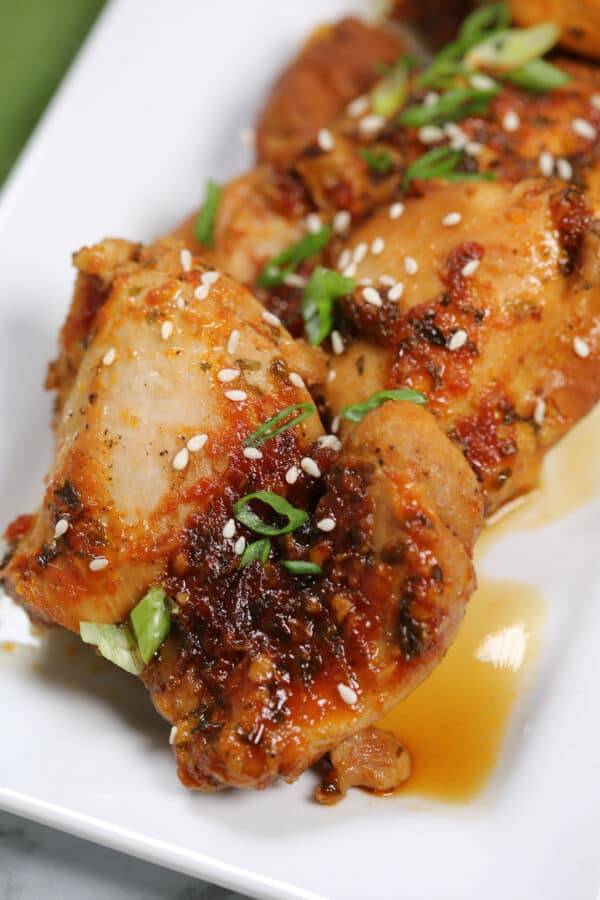 Instant Pot Sticky Asian Chicken Thighs