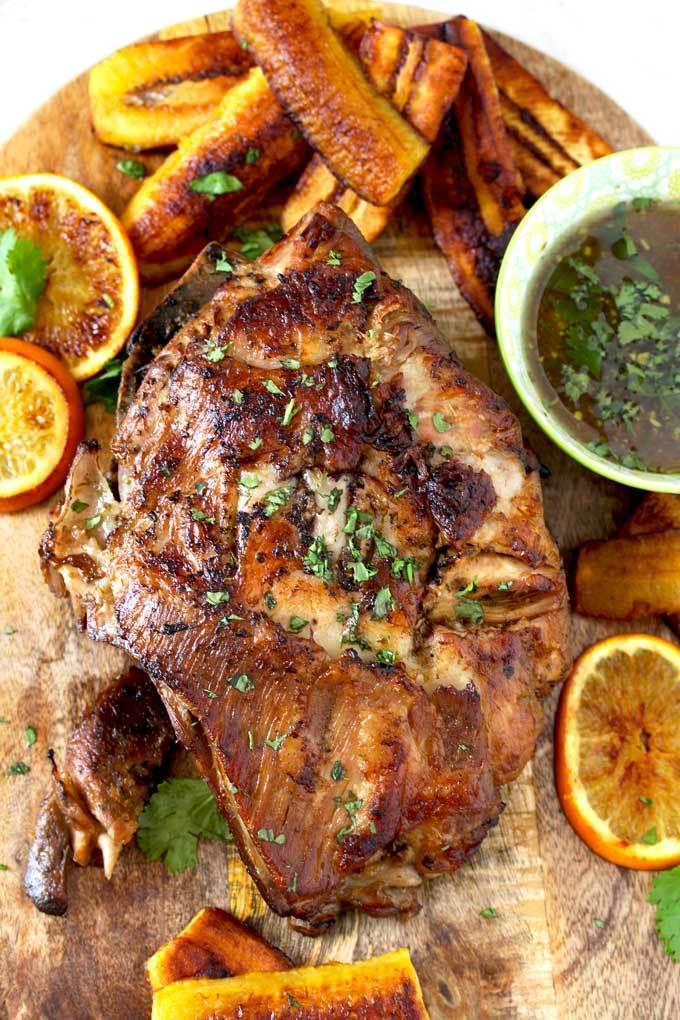 slow cooker roundup - Cuban Pork