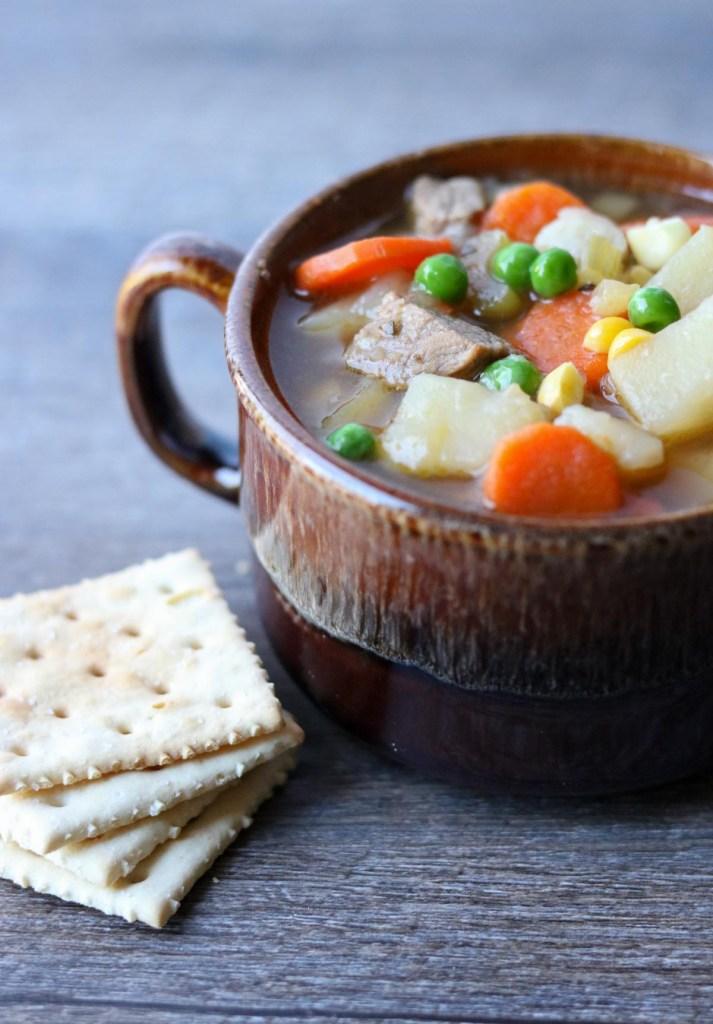 Instant Pot Beef Soup