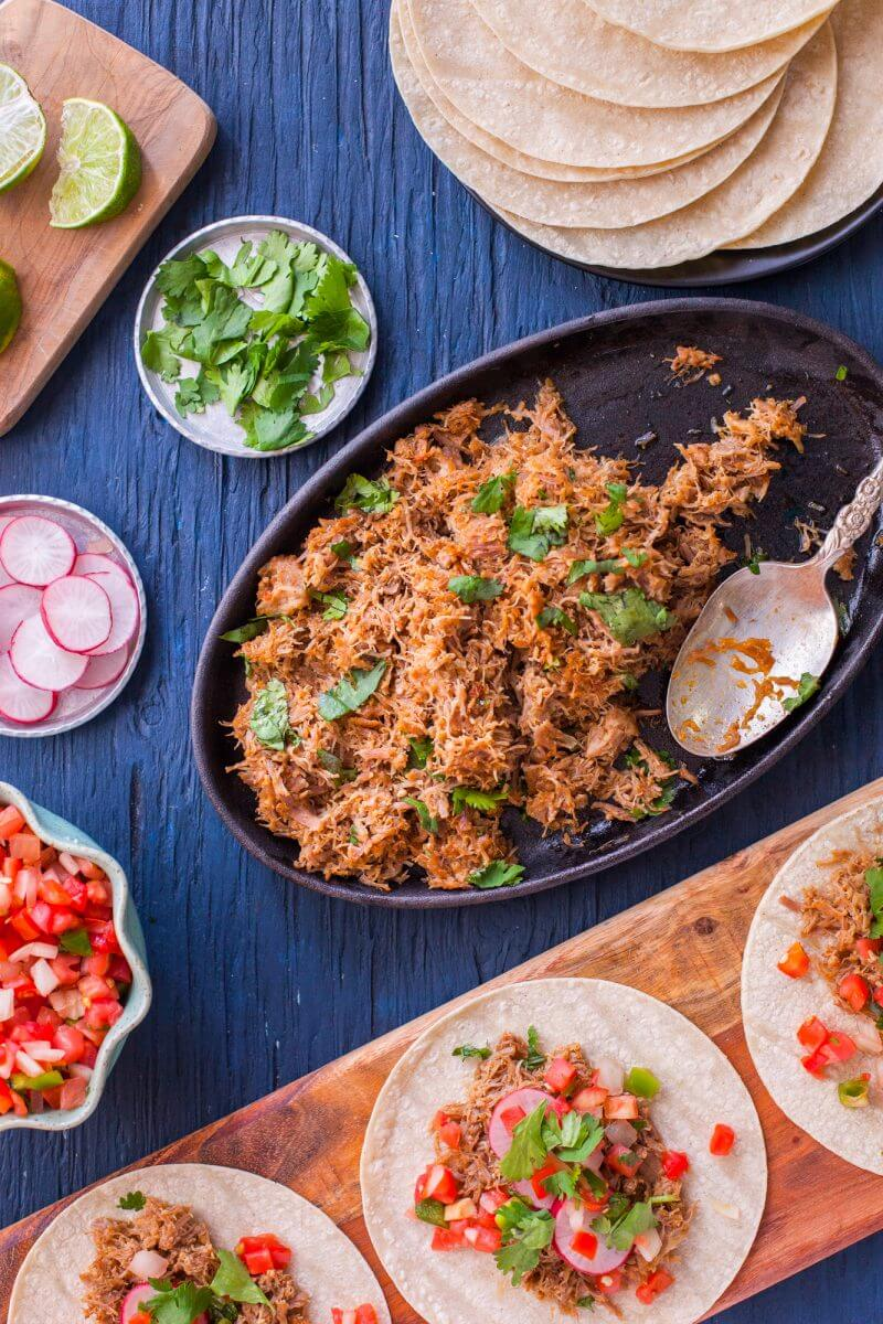Instant Pot Healthy Carnitas