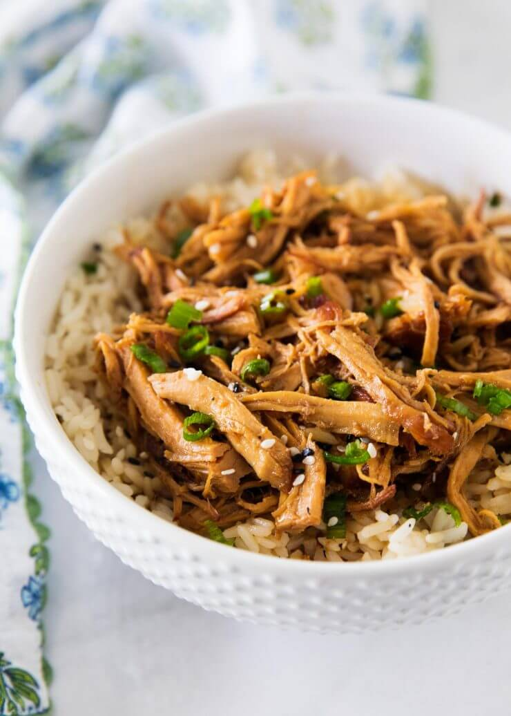 slow cooker roundup - honey chicken