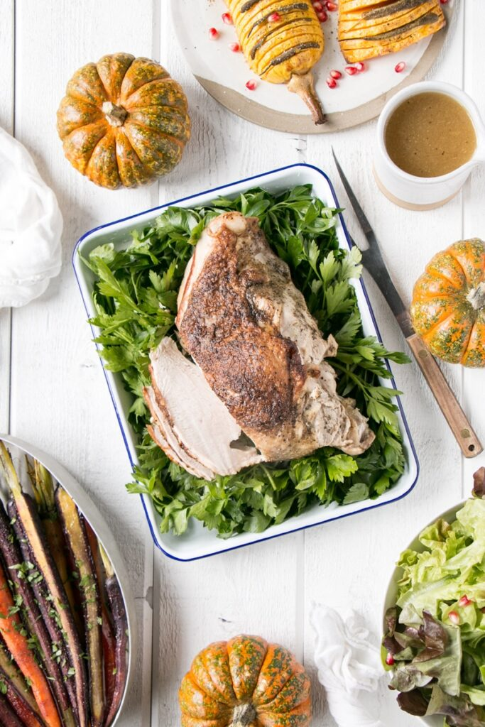 Instant Pot Herbed Turkey Breast