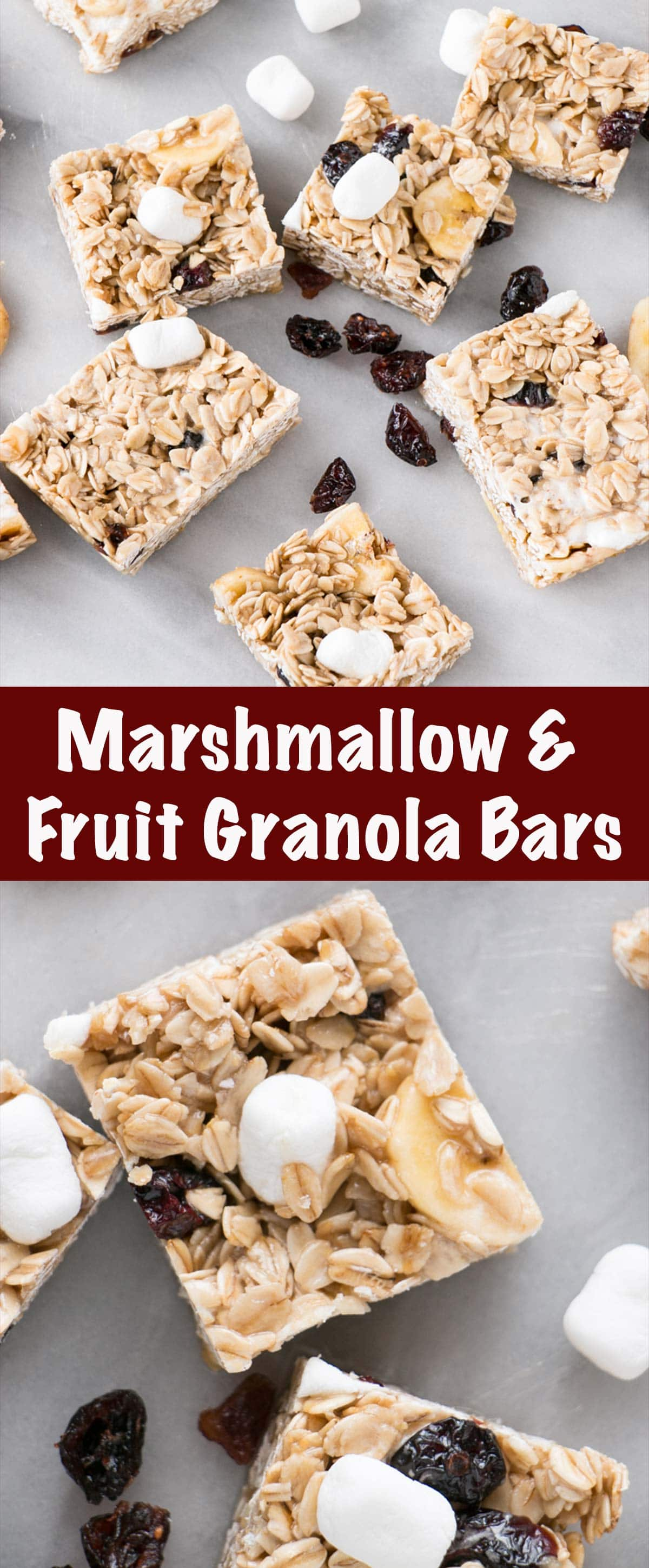 Marshmallow and Dried Fruit Granola Pin