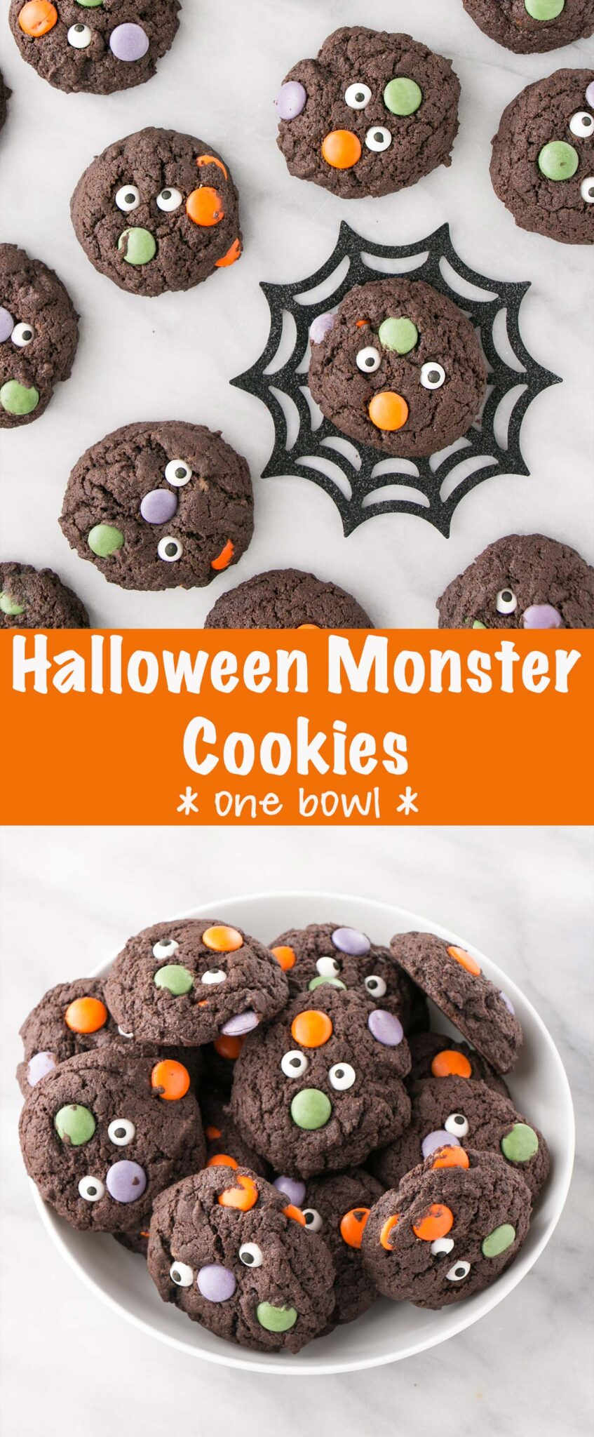 Halloween Monster Cookies pin