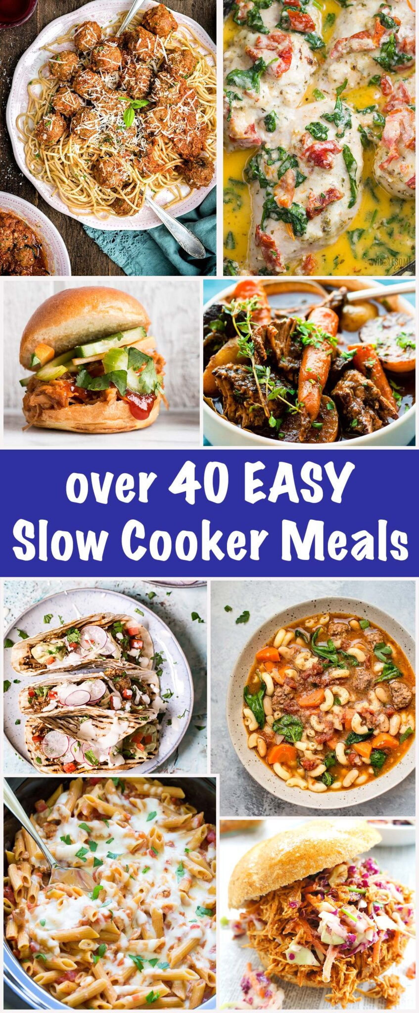 slow cooker roundup - pin