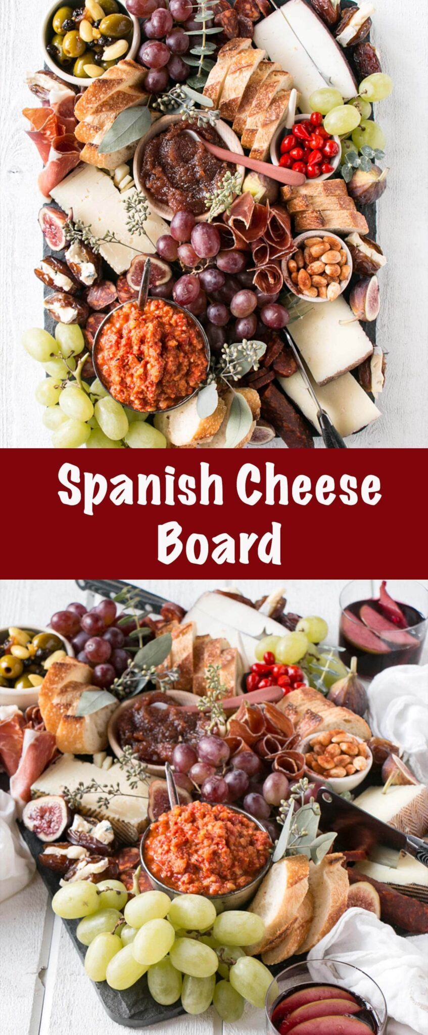 Spanish Cheese Board Pin