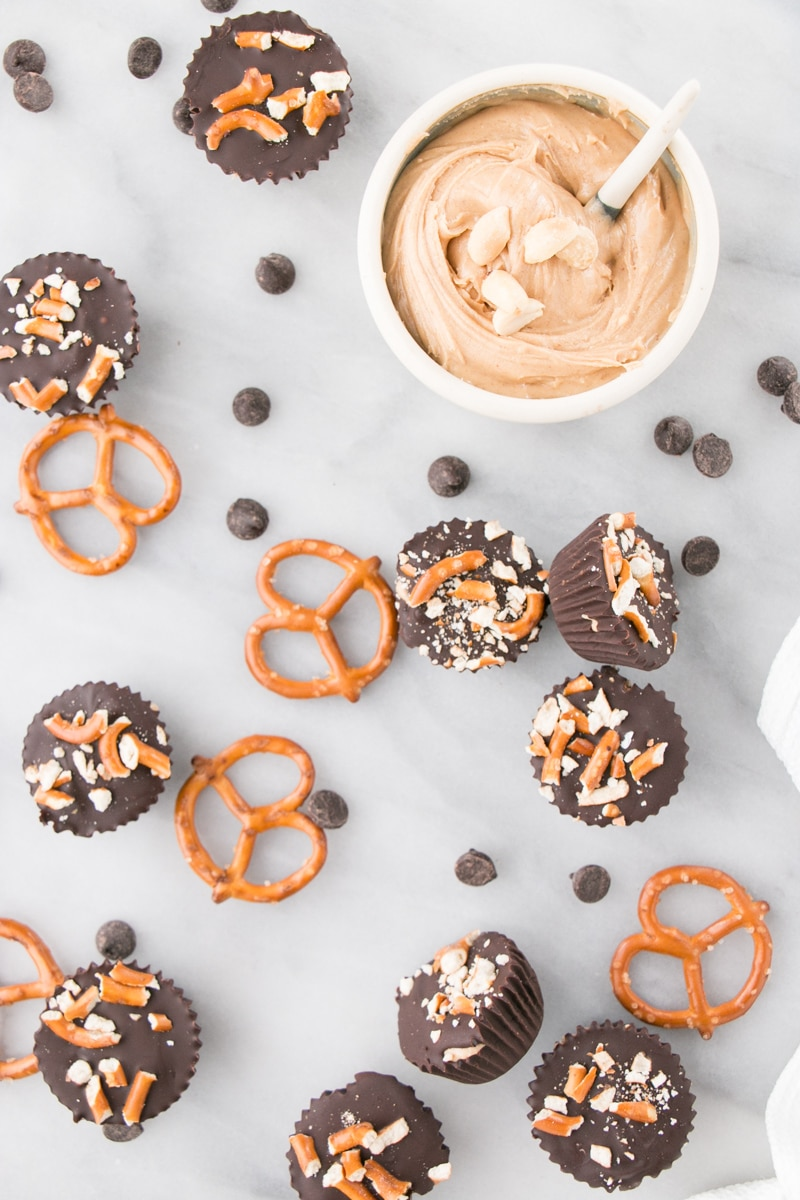 Peanut Butter Pretzel Cups Pin