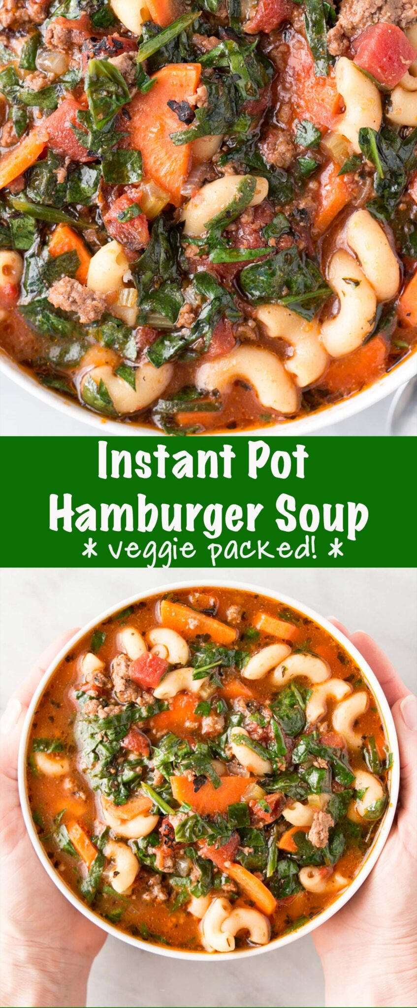Instant Pot Hamburger Soup Pin