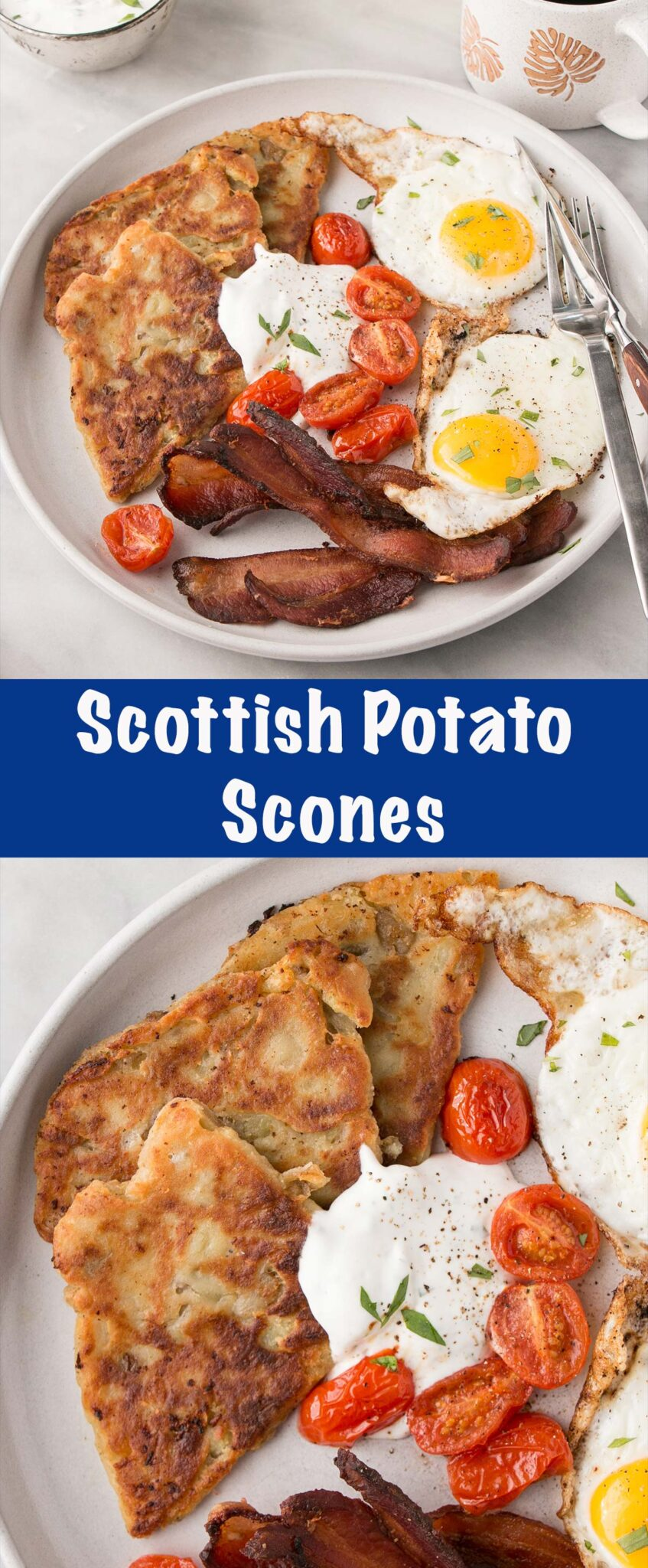 Scottish Potato Scones Pin