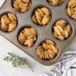 Crispy Muffin Tin Fingerling Potatoes