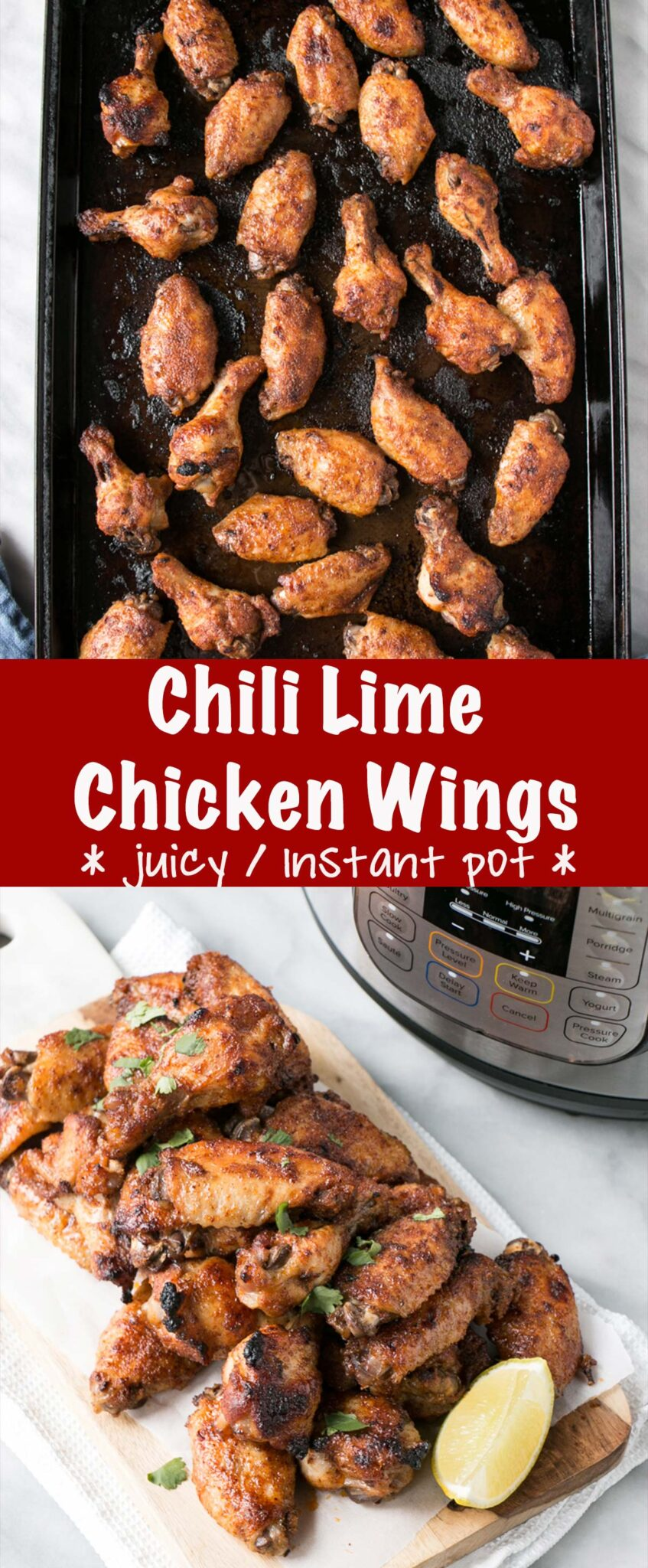 Chilli Lime Chicken Wings Pin