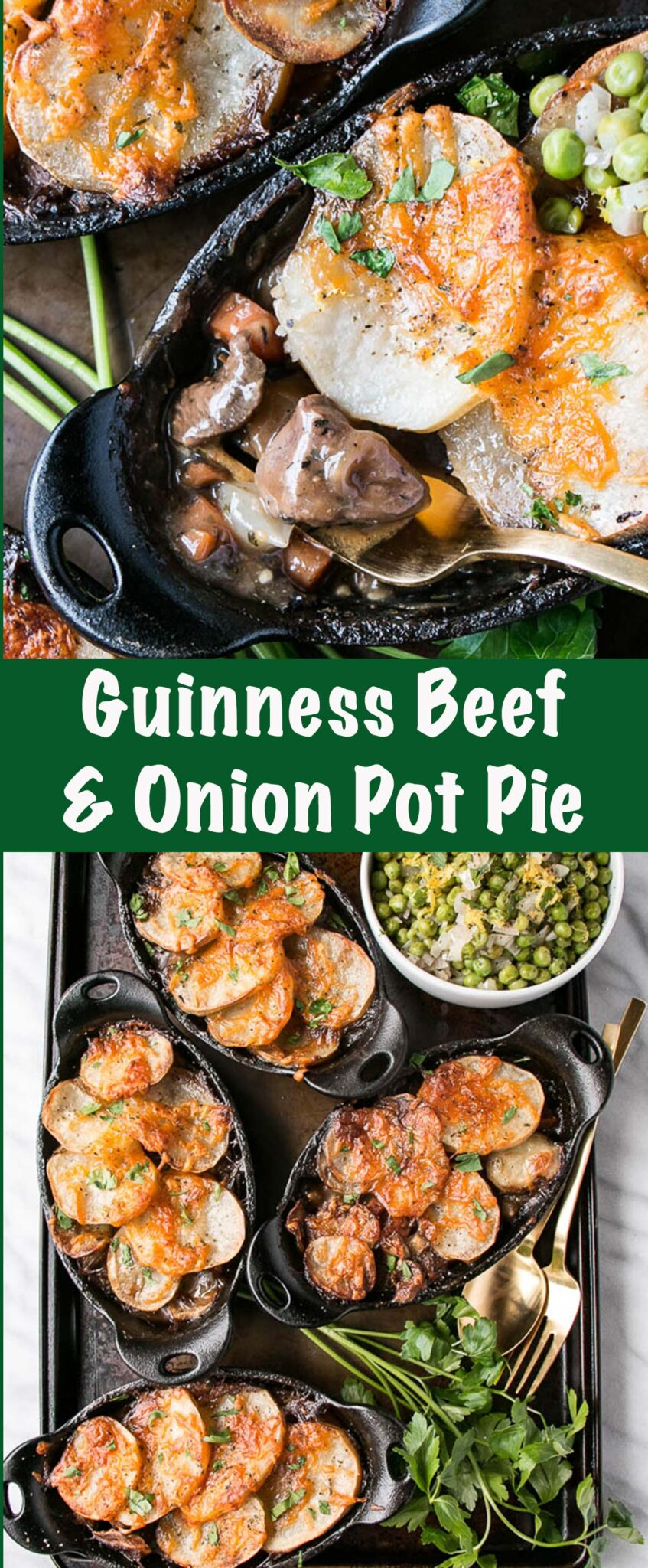 Guinness Beef and Onion Pot Pie PIN