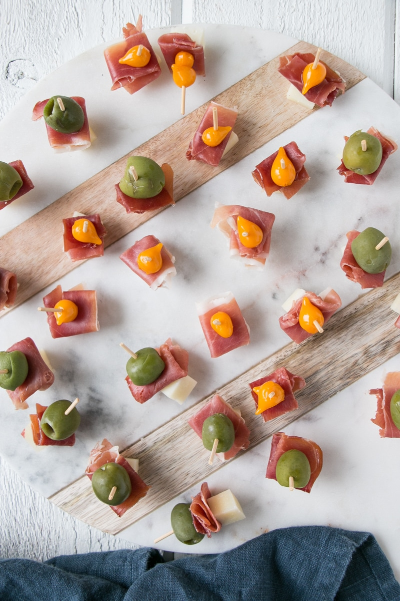 Cheese Ham And Olive Bites Easy Appetizer My Kitchen Love