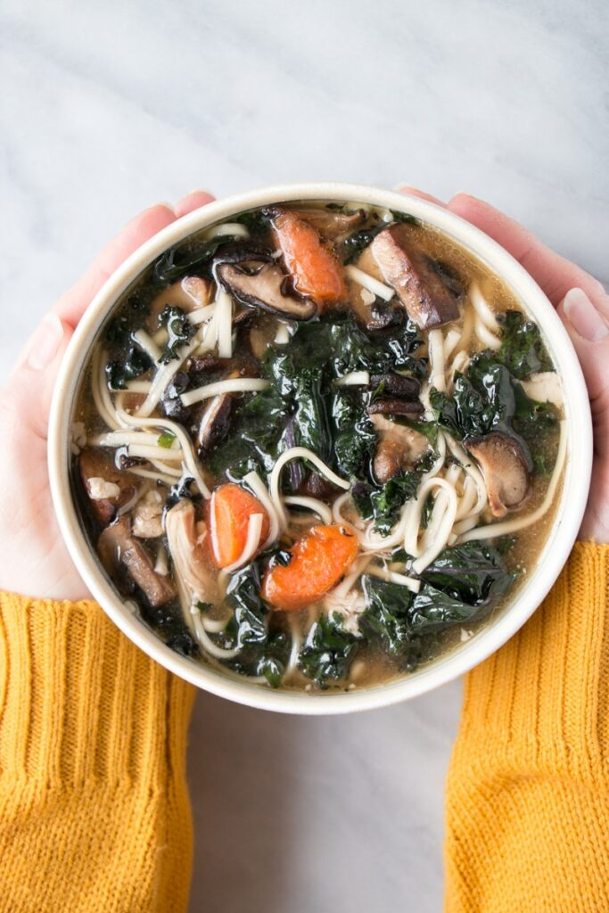 Chicken Miso Noodle Soup