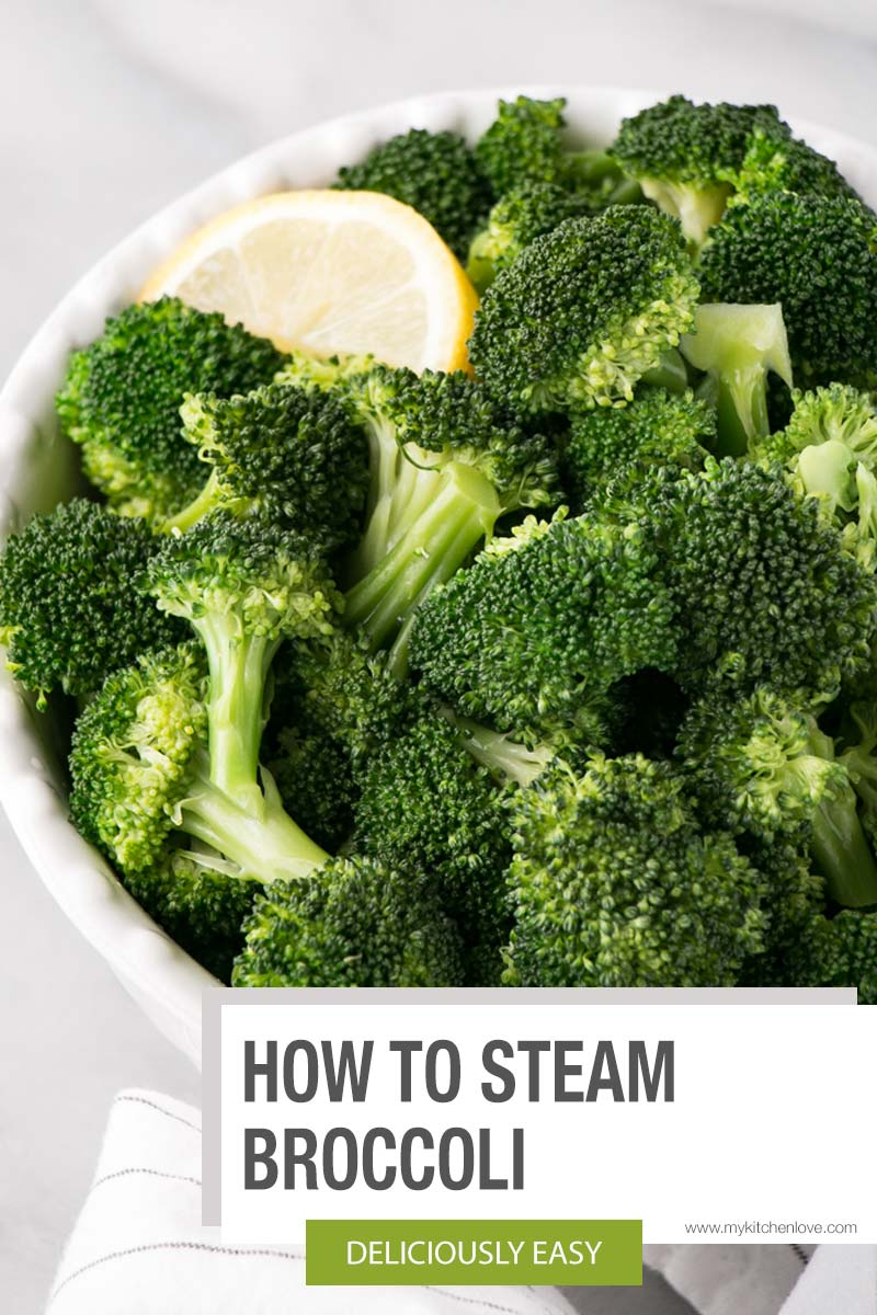 How to Steam Broccoli short Pin