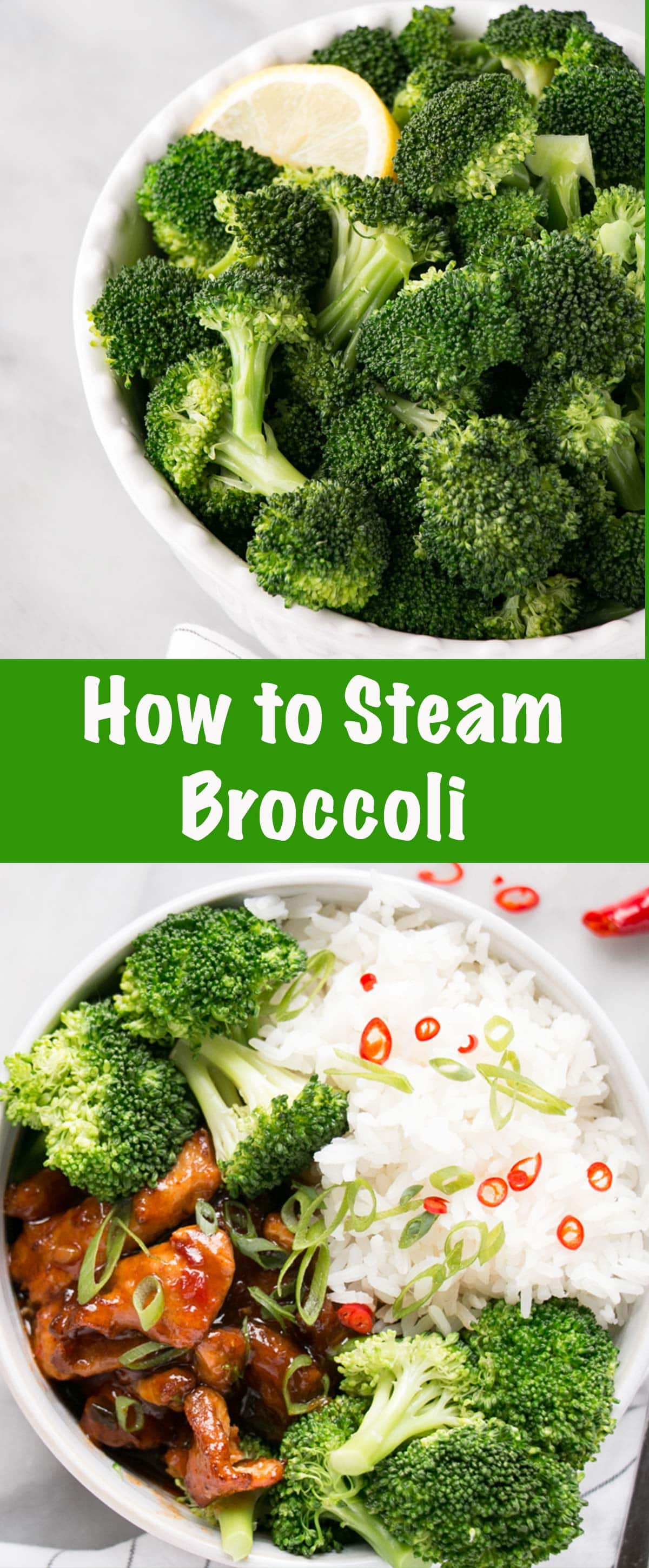How to Steam Broccoli Pin
