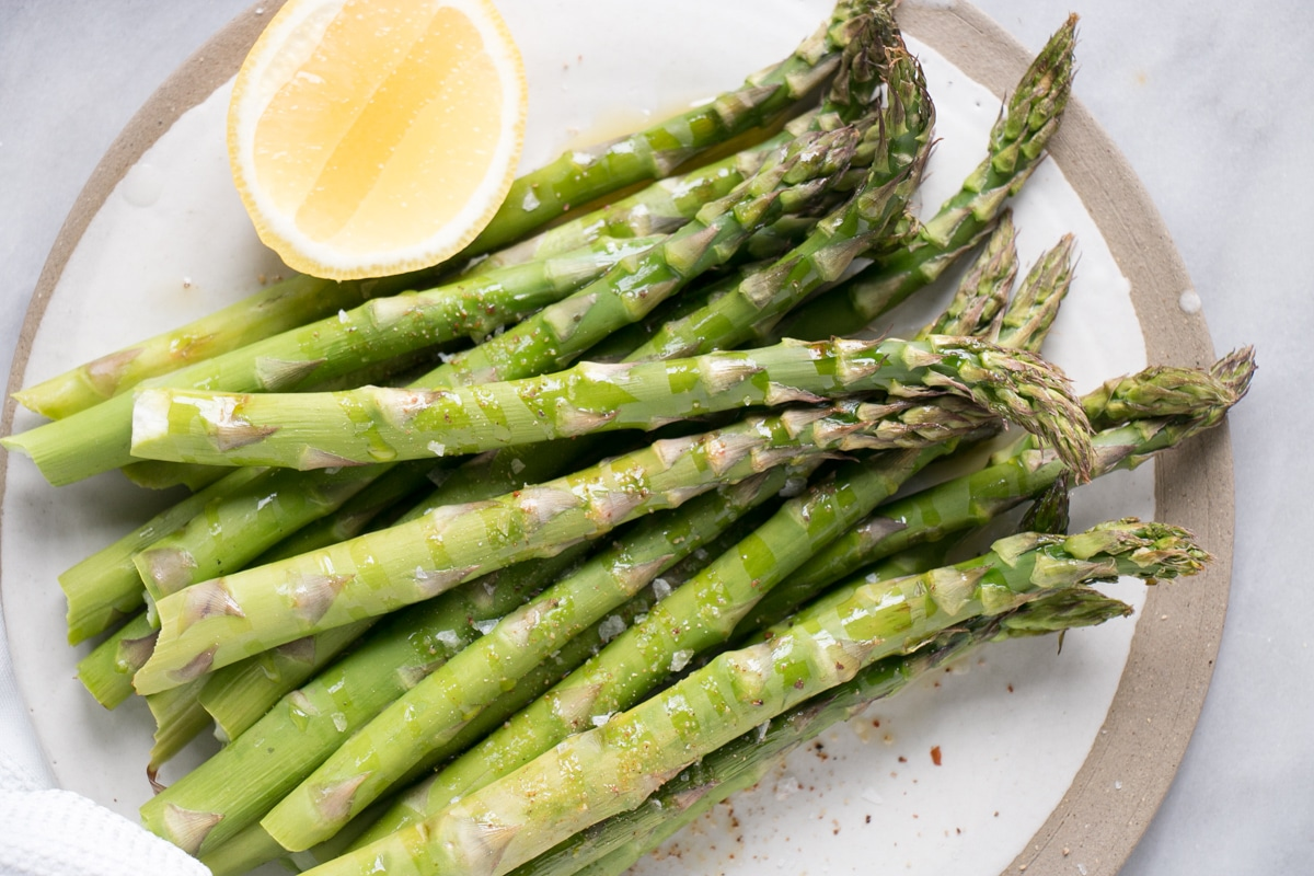 Easy roasted asparagus.