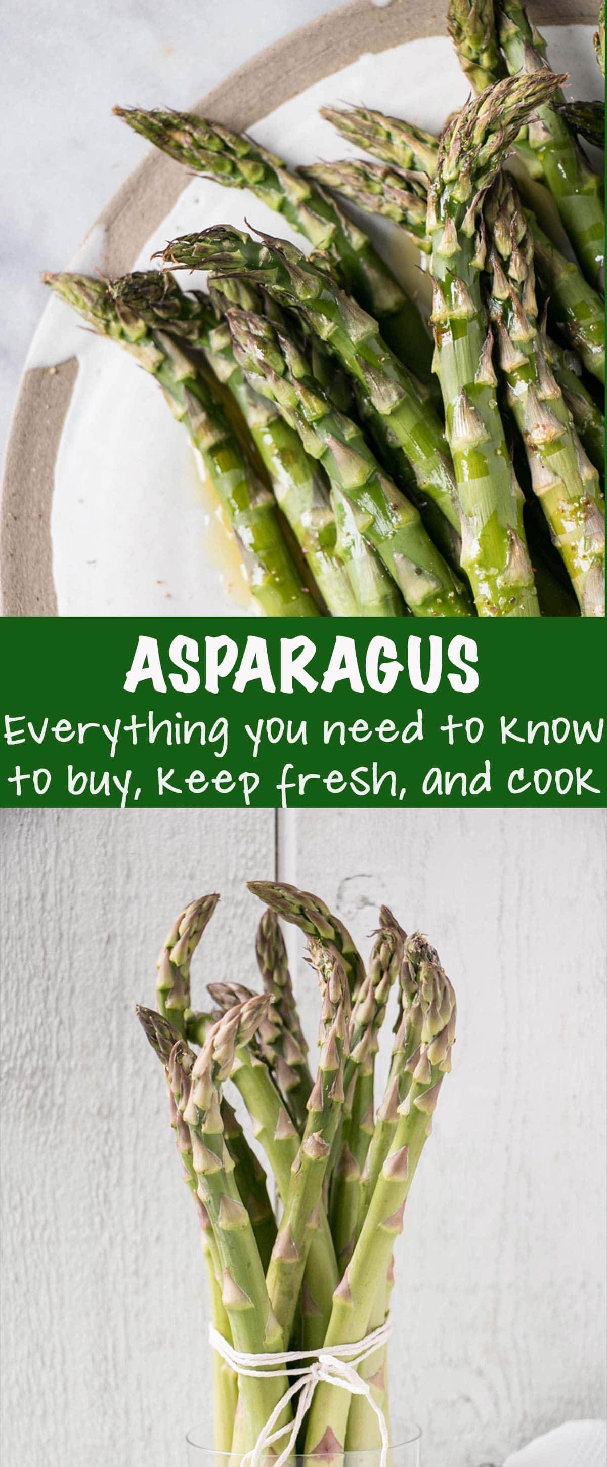 How to Roast Asparagus PIN